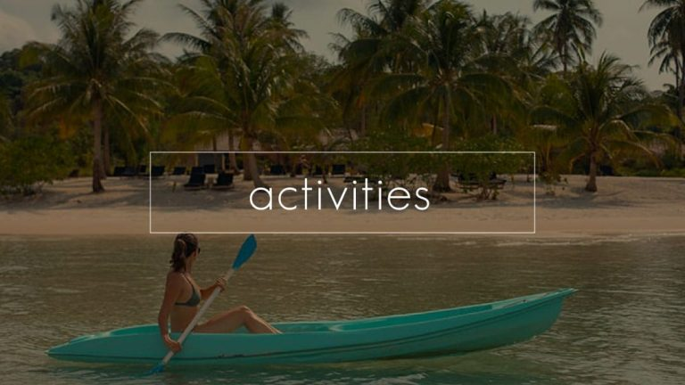 activities on koh rong